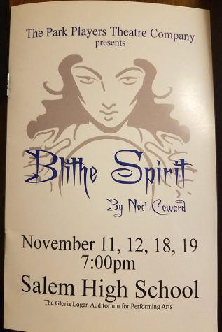 "P-CEP's Must See Fall Production: ""Blithe Spirit"""