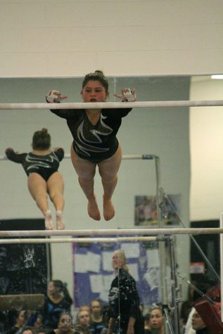 Plymouth Girls Gymnastics loses first meet of the season