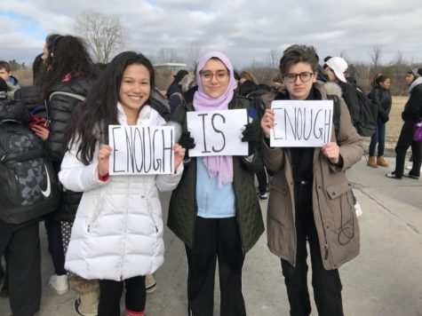 P-CEP Students Participate in National Walkout