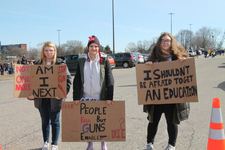 Over+4%2C000+People+Attend+March+For+Our+Lives+Protest+in+Ann+Arbor