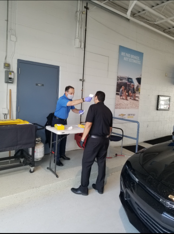 Chevrolet service center coping with COVID-19